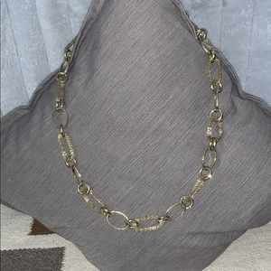 Jewelry - Long Gold link chain necklace